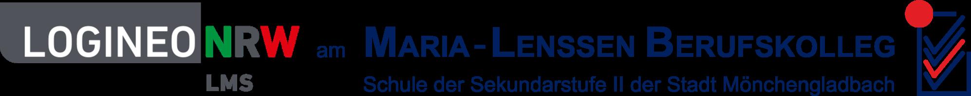 LOGINEO LMS am Maria-Lenssen Berufskolleg, Mönchengladbach